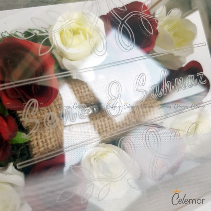 Multi View Box - Marble | Wedding Ring Bearer Box Indonesia - Celemor by Celemor - 010