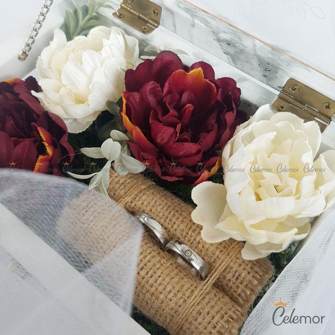 Multi View Box - Marble | Wedding Ring Bearer Box Indonesia - Celemor by Celemor - 011