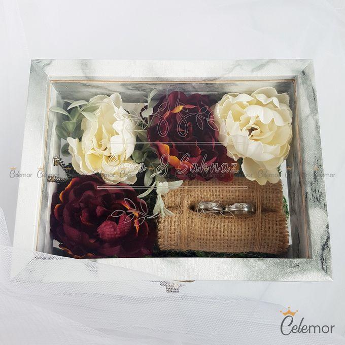 Multi View Box - Marble | Wedding Ring Bearer Box Indonesia - Celemor by Celemor - 013