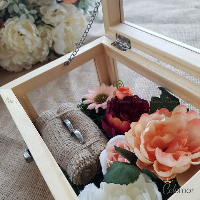 Multi View Box - Natural | Wedding Ring Bearer Box Indonesia - Celemor by Celemor - 003