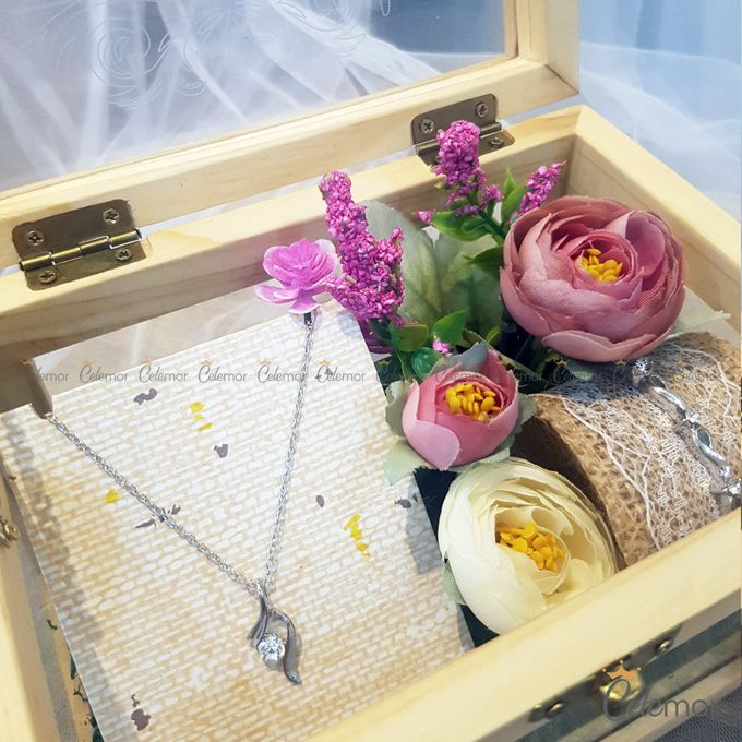 Multi View Box - Natural | Wedding Ring Bearer Box Indonesia - Celemor by Celemor - 004