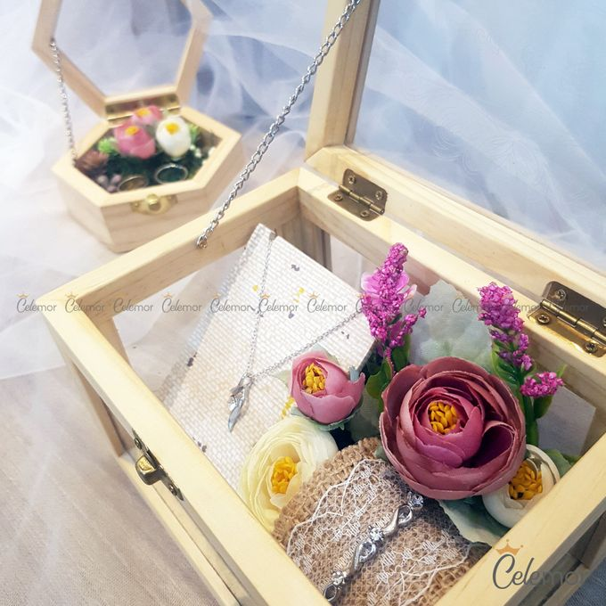 Multi View Box - Natural | Wedding Ring Bearer Box Indonesia - Celemor by Celemor - 005