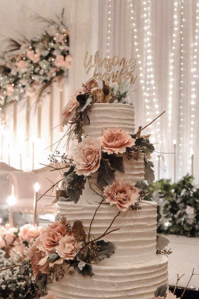 The Wedding of Winson & Jennifer by KAIA Cakes & Co. - 018