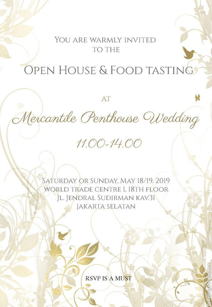 Open House & Food Tasting by MERCANTILE PENTHOUSE WEDDING - 001