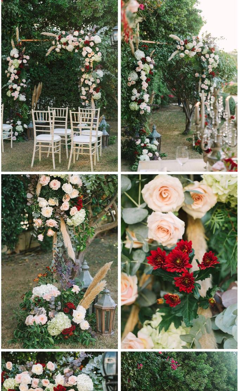 Wedding flower decor  by mydubaiweddingplanner.com - 003