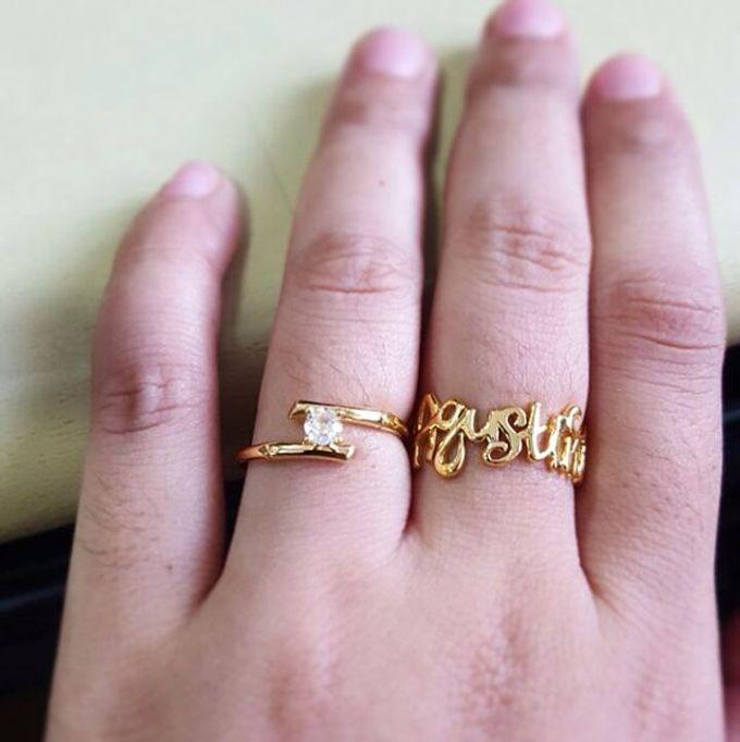 Name & Initial by DA Jewelry - 001
