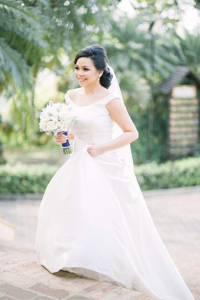 Add To Board Winter Wonderland Themed Wedding By Ish Sison Makeup Artistry