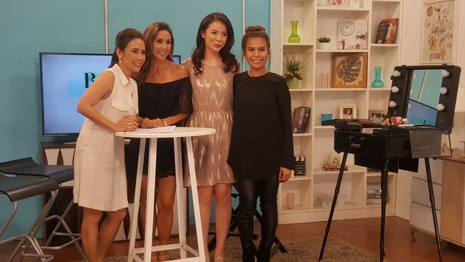 Makeup Demo For Valentines Day On Real Talk Show by Makeup by Marjorie - 003