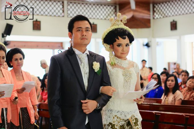 Monic + Dicky Wedding (Holy Matrimony) by Orion Art Production - 007