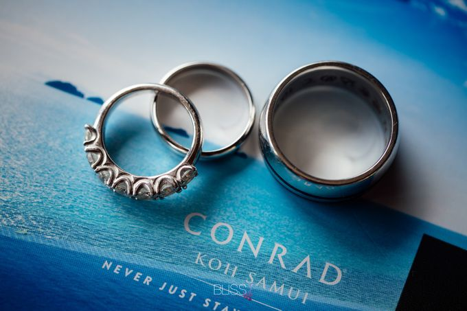 Neil & Erica wedding at Conrad Koh Samui by BLISS Events & Weddings Thailand - 001