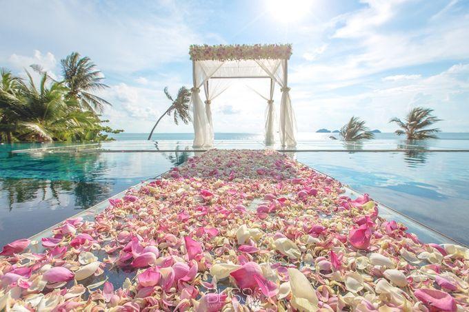 Neil & Erica wedding at Conrad Koh Samui by BLISS Events & Weddings Thailand - 005