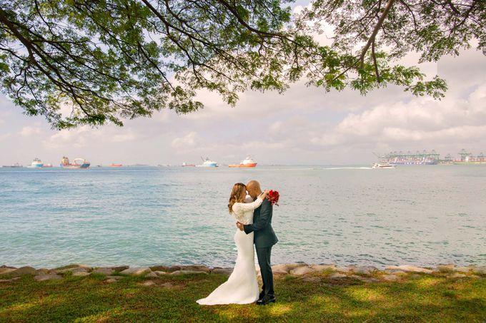 Amara Sanctuary Resort Sentosa & Shangrila Rasa Sentosa Wedding by GrizzyPix Photography - 001