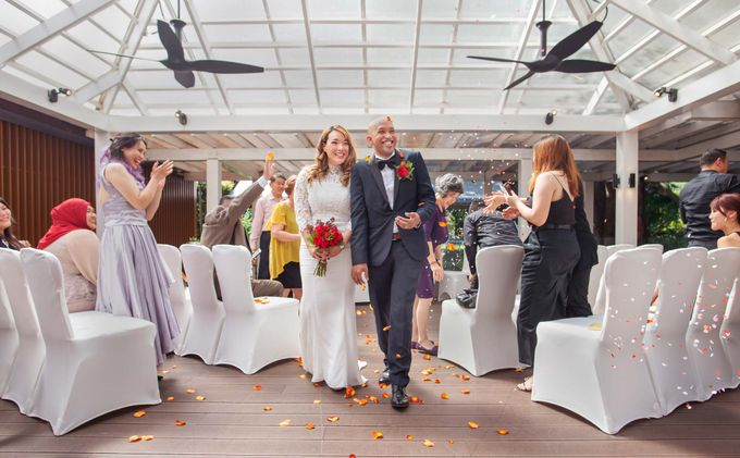 Amara Sanctuary Resort Sentosa & Shangrila Rasa Sentosa Wedding by Amara Sanctuary Resort Sentosa - 010