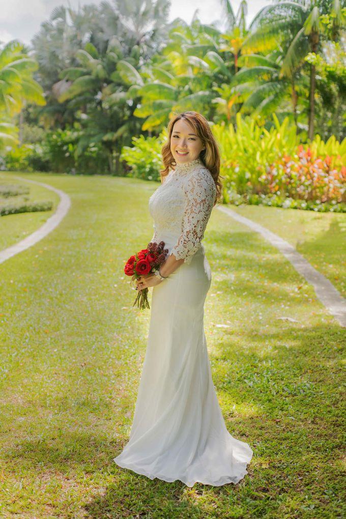 Amara Sanctuary Resort Sentosa & Shangrila Rasa Sentosa Wedding by Amara Sanctuary Resort Sentosa - 012