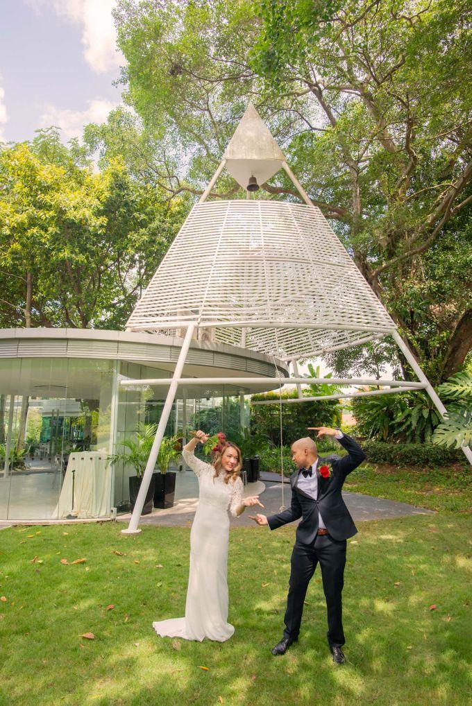 Amara Sanctuary Resort Sentosa & Shangrila Rasa Sentosa Wedding by GrizzyPix Photography - 016