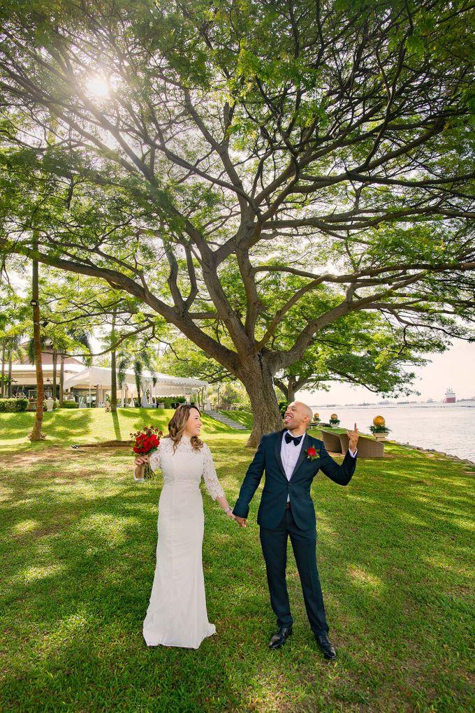 Amara Sanctuary Resort Sentosa & Shangrila Rasa Sentosa Wedding by GrizzyPix Photography - 005