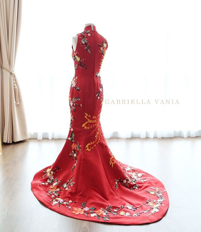Cheongsam Embroidery - GV HERITAGE by GV by Gabriella Vania - 023