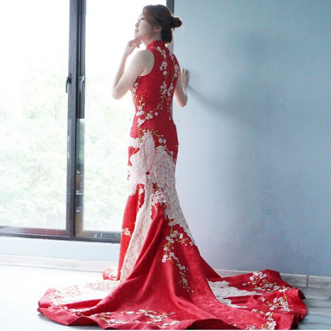 Cheongsam Embroidery - GV HERITAGE by GV by Gabriella Vania - 030