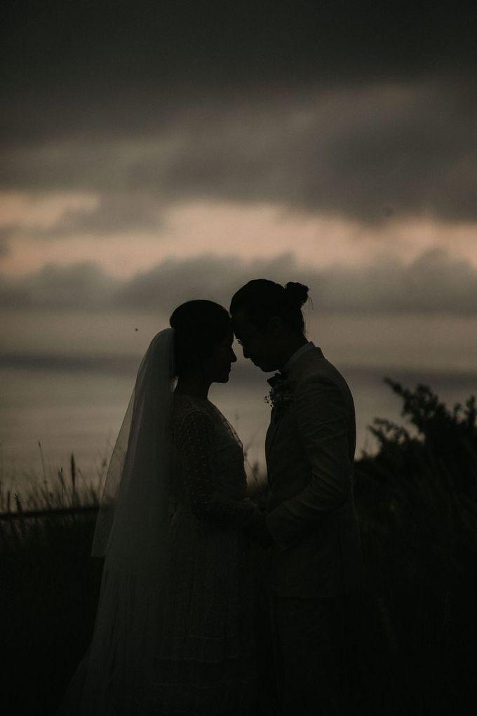 Chris & Calista Real Wedding at The Stone House by Tirtha by Tirtha Bali - 034