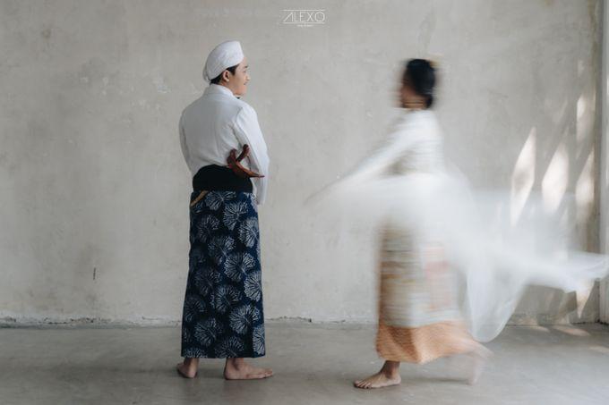 Prewedding Nessa & Indra   Sarimbit Post Modern by Alexo Pictures - 006
