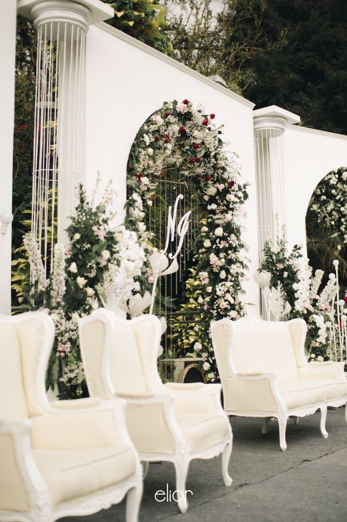 The Wedding of Nadia and Irham by Elior Design - 009