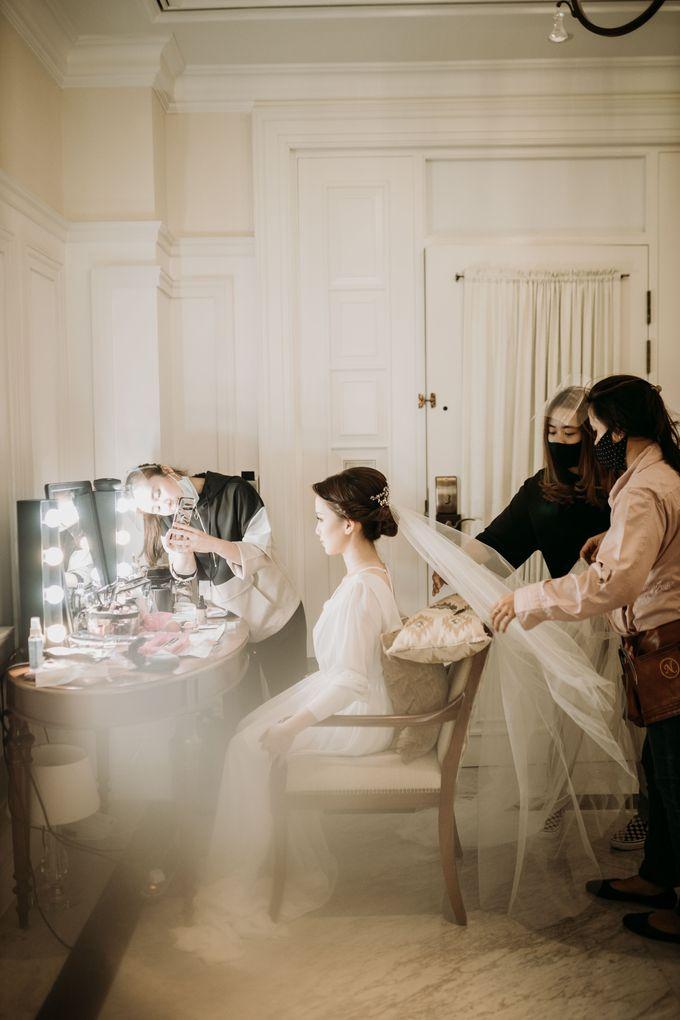 Nadya & Aldo Wedding at Hermitage by AKSA Creative - 003