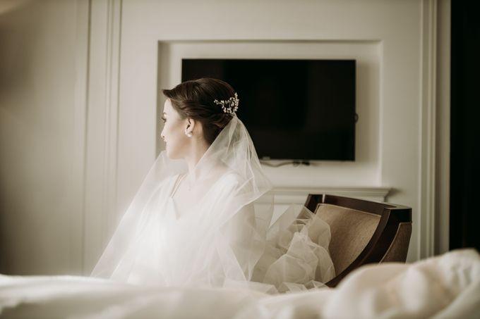 Nadya & Aldo Wedding at Hermitage by AKSA Creative - 006