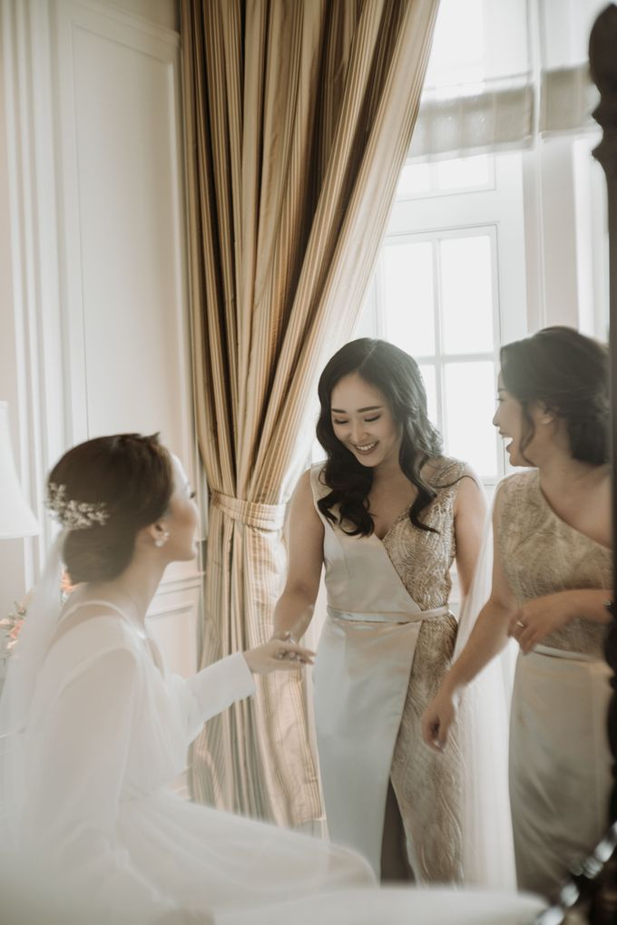 Nadya & Aldo Wedding at Hermitage by AKSA Creative - 013