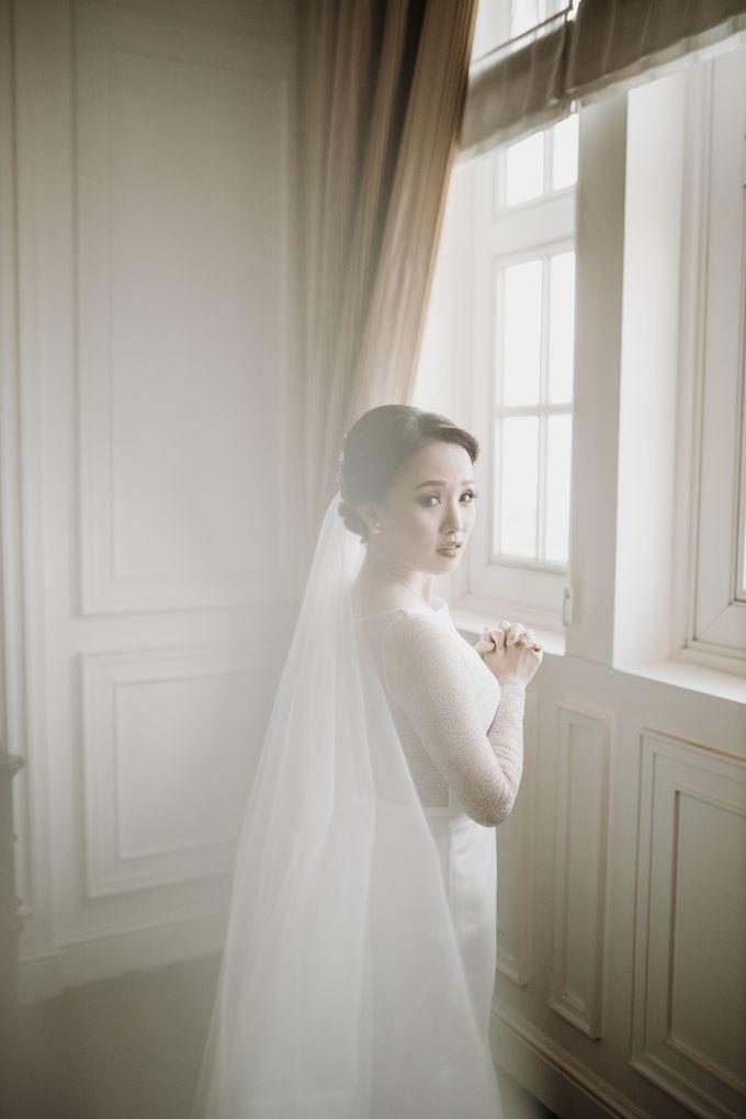 Nadya & Aldo Wedding at Hermitage by AKSA Creative - 017