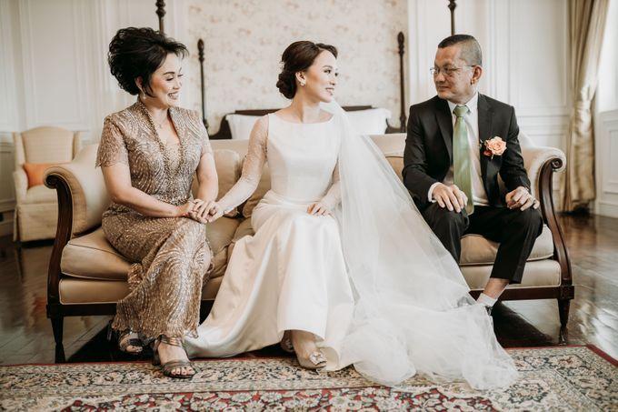 Nadya & Aldo Wedding at Hermitage by AKSA Creative - 019