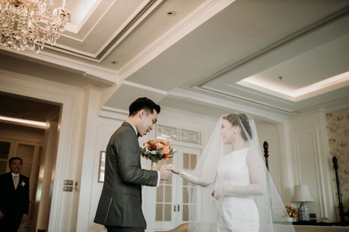 Nadya & Aldo Wedding at Hermitage by AKSA Creative - 021