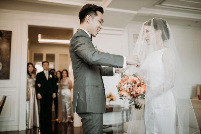 Nadya & Aldo Wedding at Hermitage by AKSA Creative - 023
