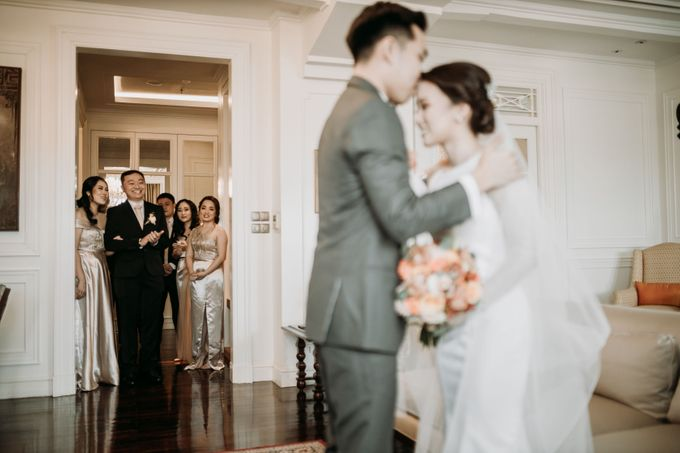 Nadya & Aldo Wedding at Hermitage by AKSA Creative - 024