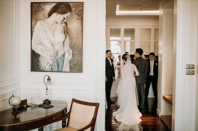 Nadya & Aldo Wedding at Hermitage by AKSA Creative - 027