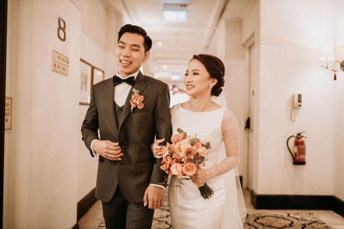 Nadya & Aldo Wedding at Hermitage by AKSA Creative - 029