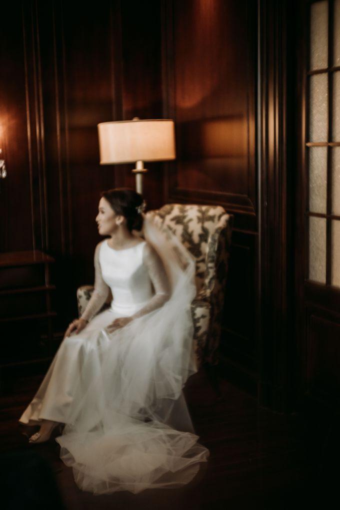 Nadya & Aldo Wedding at Hermitage by AKSA Creative - 033