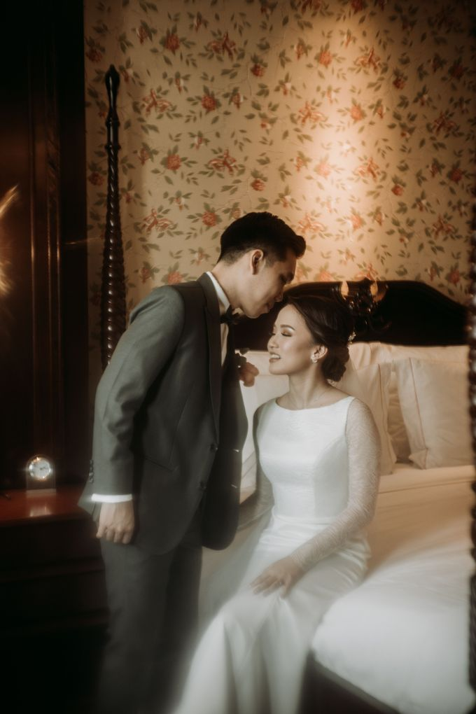 Nadya & Aldo Wedding at Hermitage by AKSA Creative - 034