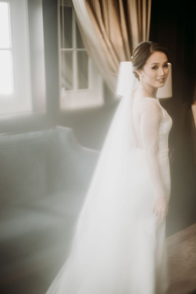 Nadya & Aldo Wedding at Hermitage by AKSA Creative - 035