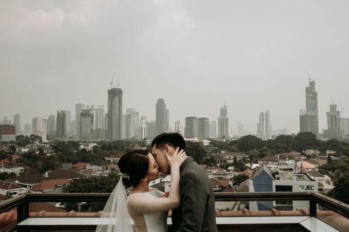 Nadya & Aldo Wedding at Hermitage by AKSA Creative - 039