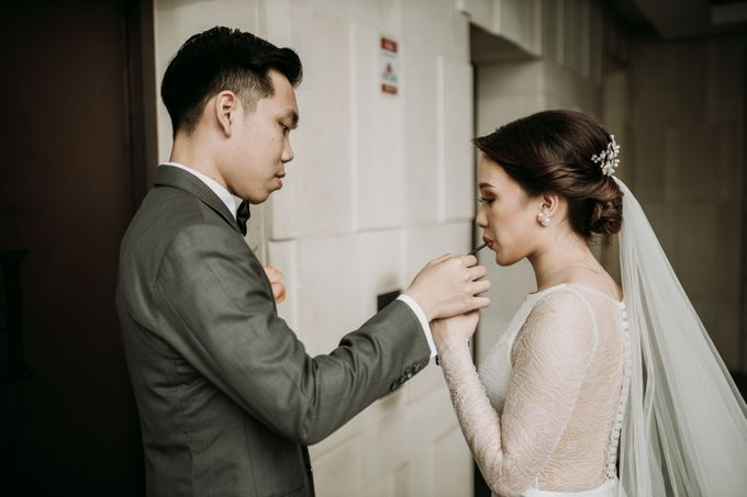 Nadya & Aldo Wedding at Hermitage by AKSA Creative - 040
