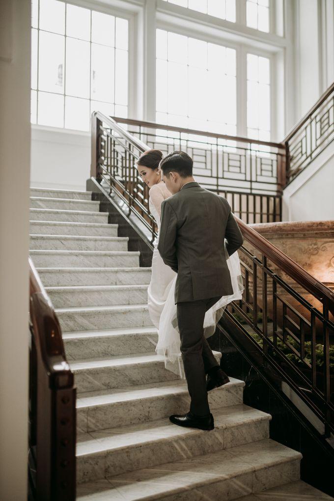 Nadya & Aldo Wedding at Hermitage by AKSA Creative - 041