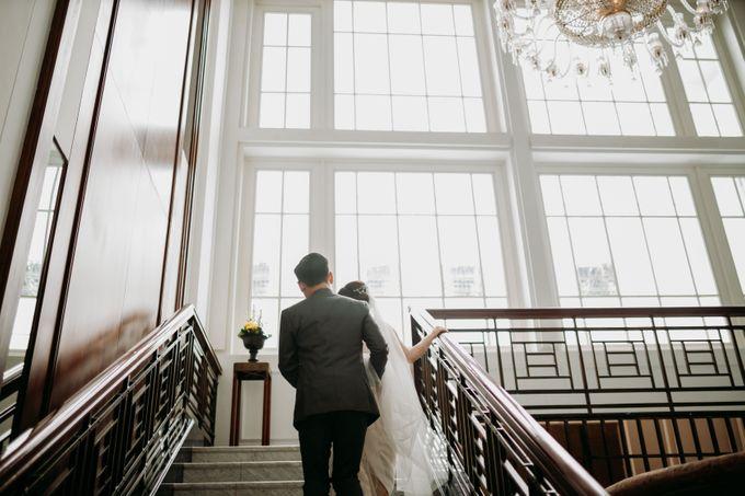 Nadya & Aldo Wedding at Hermitage by AKSA Creative - 042