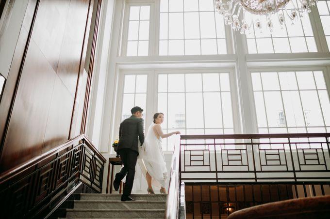 Nadya & Aldo Wedding at Hermitage by AKSA Creative - 043