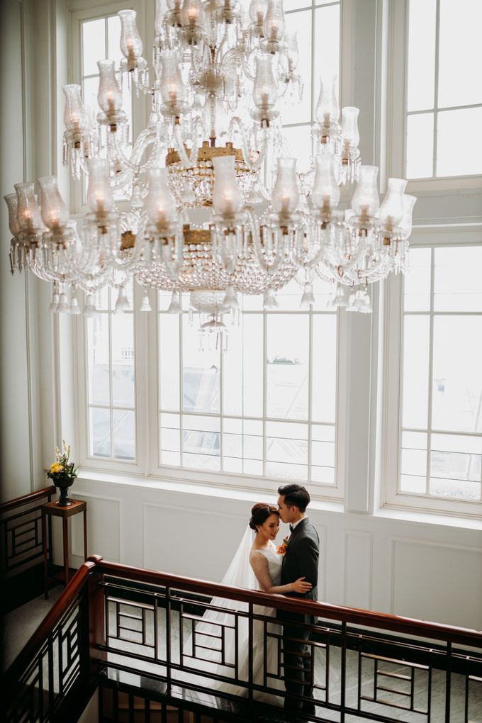 Nadya & Aldo Wedding at Hermitage by AKSA Creative - 046
