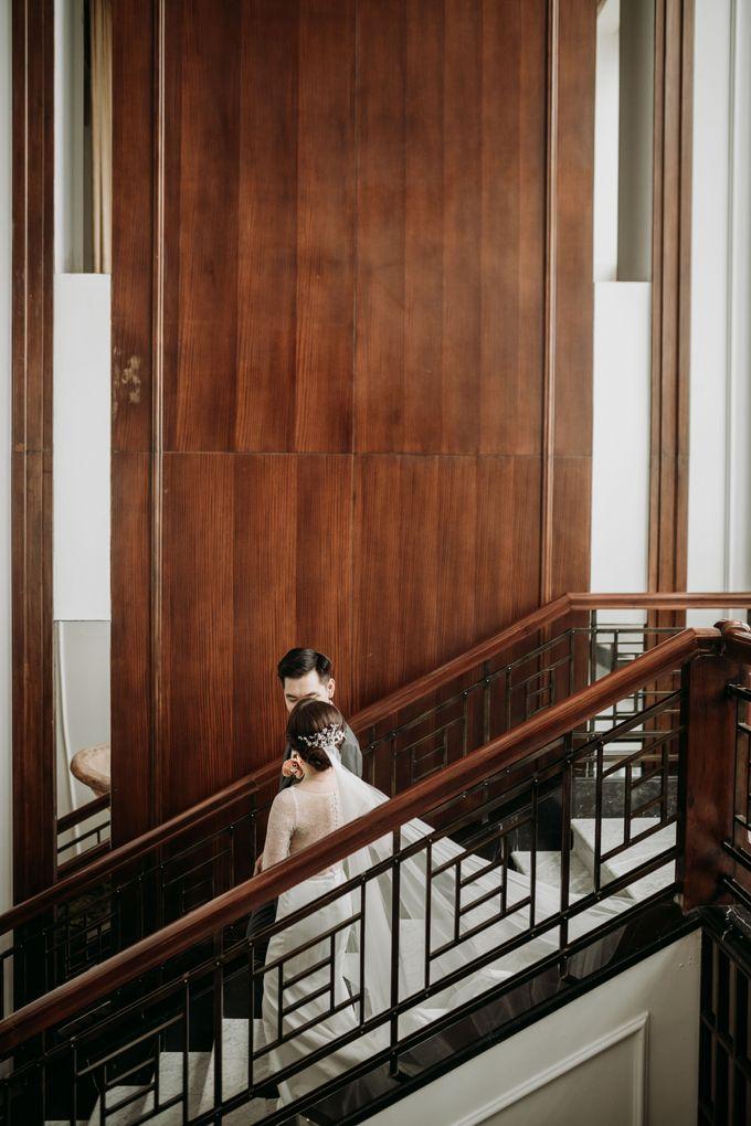 Nadya & Aldo Wedding at Hermitage by AKSA Creative - 047