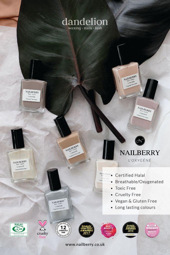 Nailberry - Award-winning Non-Toxic Breathable Nail Polish by Dandelion ID - 001