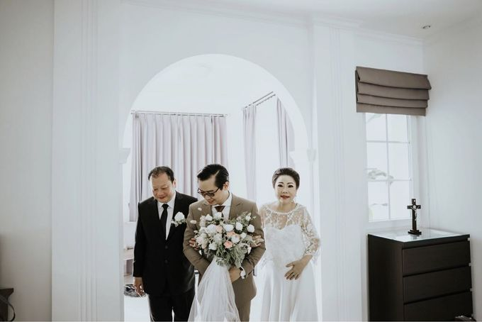 Wedding of Surya & Jessica by Wong Hang Distinguished Tailor - 004