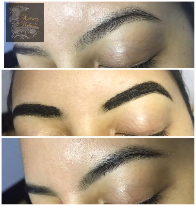Brow Henna Tinting Services by Nakreze Mehndi - 002