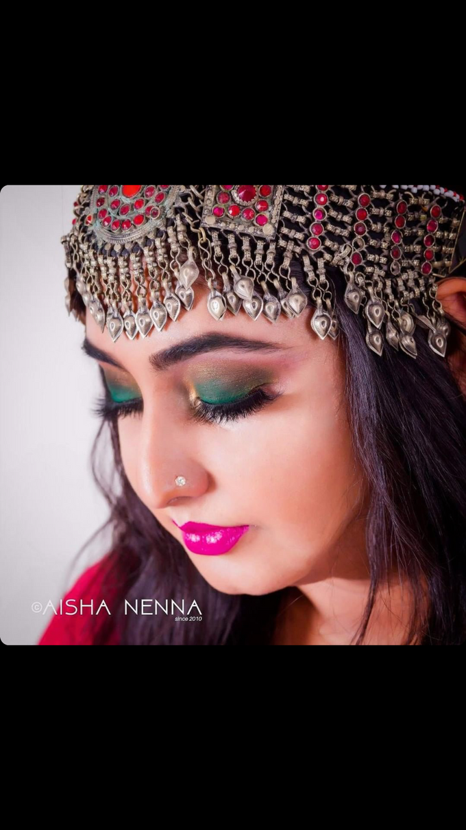 Hair & Makeup by Nakreze Mehndi - 005