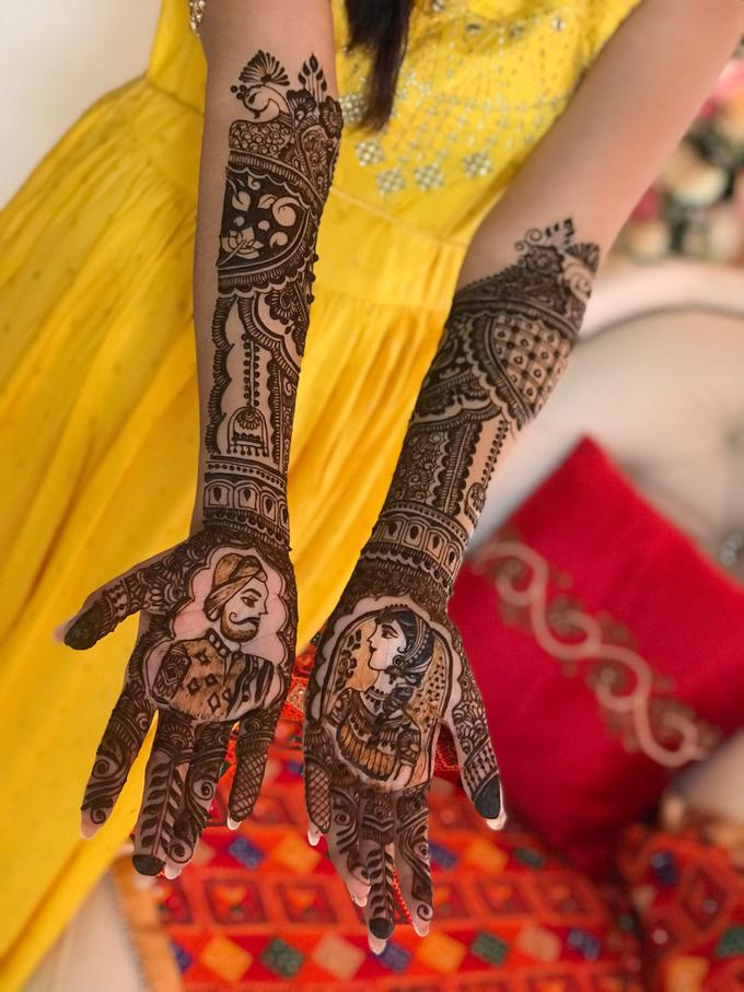 Bridal Henna - Intricate by Nakreze Mehndi - 047